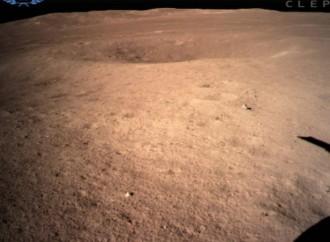 Sonda China Chang'e-4 logra histórico alunizaje en el lado oscuro de la luna