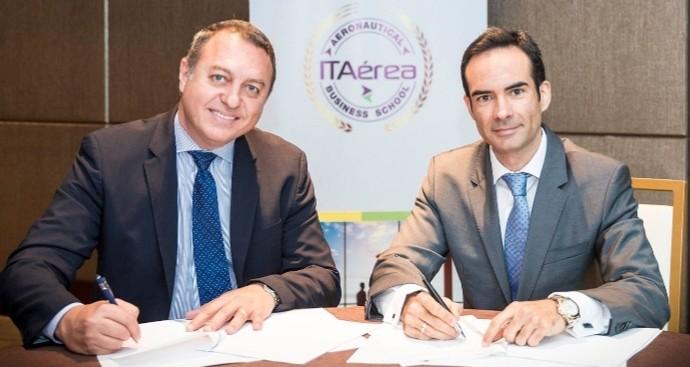 ALTA e ITAérea firman acuerdo de colaboración para impulsar actividades formativas en la región
