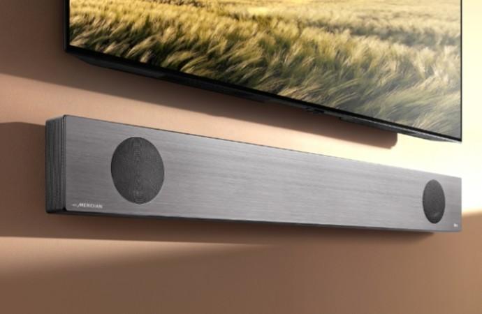 Las barras de sonido de LG Advanced 2019 aumentan el Bar para el audio de teatro en casa en CES 2019