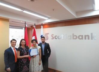 Scotiabank recibe premio por JP Morgan por eficiencia en pagos
