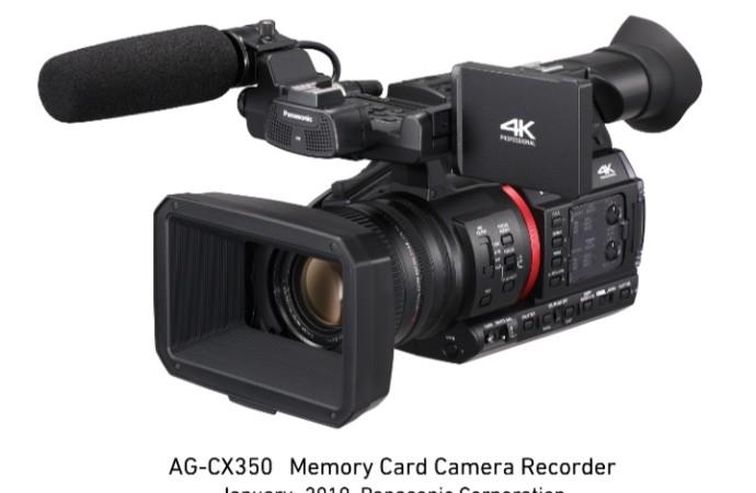 Panasonic comienza comercialización de nueva cámara de mano con grabación 4K, conectividad IP y capacidad de transmisión