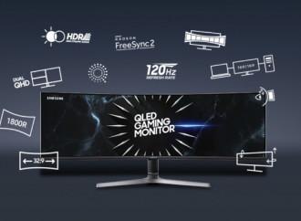 Eleve el nivel de su experiencia de juego con el nuevo CRG9 de Samsung