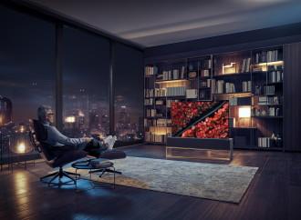 LG introduce el televisor del futuro, el primer TV enrollable del mundo
