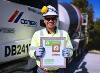 Planta de CEMEX en Panamá recibe Certificación del Concrete Sustainability Council