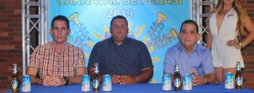 Cervecería Nacional, patrocinador oficial del Carnaval de Pedasí 2019
