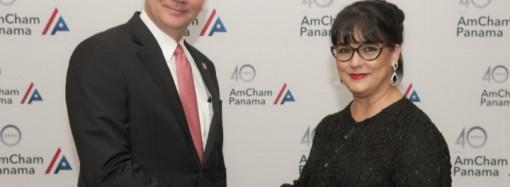 Jeannette Díaz Granados asume la presidencia de AmCham Panamá para el periodo 2019