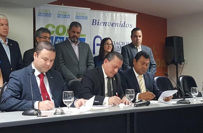 Asociación de Usuarios de la Zona Libre de Colón firma convenio histórico para trazar hoja de ruta que aumente competitividad del emporio comercial