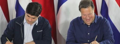 Panamá y Costa Rica pactan política bilateral durante II Encuentro Binacional