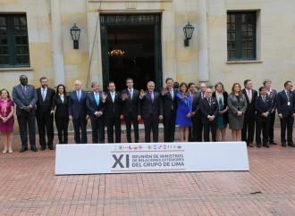 Declaración del Grupo de Lima en apoyo al proceso de Transición Democrática y la Reconstrucción de Venezuela