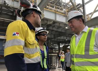 Presidente Varela participará en primera molienda de cobre de Minera Panamá