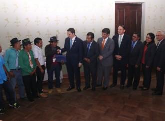 Autoridades tradicionales de Comarca Kuna de Wargandí aprueban Resolución para desarrollo de línea interconexión eléctrica entre Panamá y Colombia