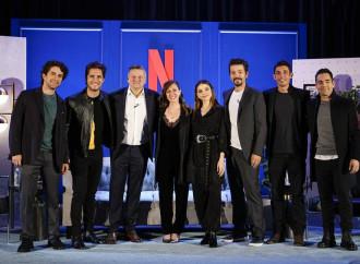 Netflix expande su presencia en México con la filmación de más de 50 proyectos en el país, así como la apertura de sus oficinas en Ciudad de México