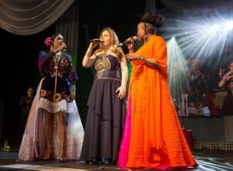 """El Teatro Anayansi fue el anfitrión delconcierto """"Divas del Mundo"""", presentado por la Alcaldía de Panamá"""