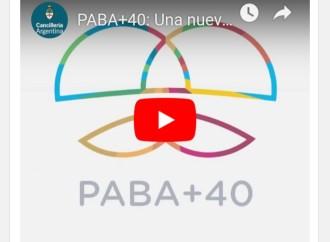 Argentina es laanfitriona de la conferencia PABA+40