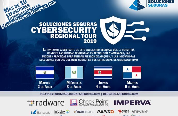 Soluciones Seguras se prepara para su Cybersecurity Regional Tour 2019