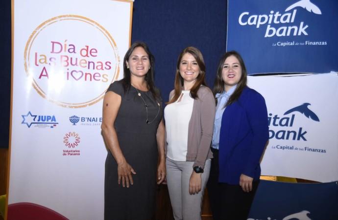 Capital Bank se une al Día de Buenas Acciones 2019