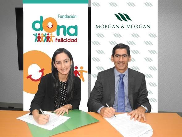 Morgan & Morgan renueva su compromiso pro-bono con la Fundación Dona Felicidad