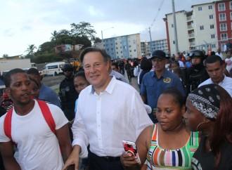 """""""Hemos cumplido con ustedes y lo seguiré haciendo hasta el último día de mi mandato"""", presidente Varela"""