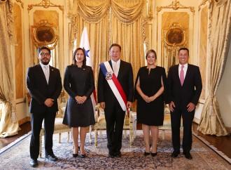 Presidente Varela recibe credenciales de la Embajadora del presidente interino de Venezuela, Juan Guaidó