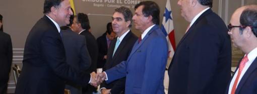 Empresarios de Colombia y Panamá comparten sus historias de éxito en encuentro empresarial con presidentes Varela y Duque