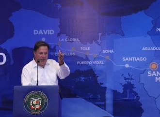 Presidente Varela presenta en Azuero ventajas económicas y sociales de la construcción del tren Panamá-David
