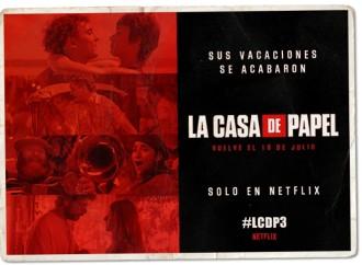 Netflix anuncia la fecha de estreno de La Casa De Papel Parte 3