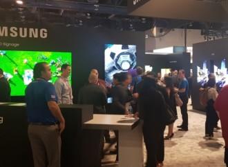 Samsung demuestra su liderazgo en señalización digital en el DSE Las Vegas