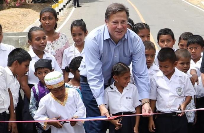 Gobierno entrega nueva carretera El Higo-El Copé y amplía su inversión a 800 millones de balboas en Panamá Oeste