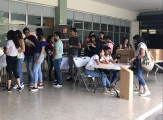USMA realiza jornada de voto simulado