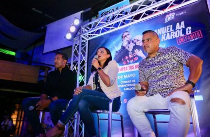 Balboa Ice patrocina concierto de Anuel y Karol G