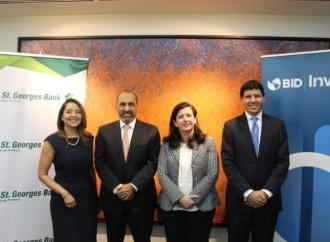 BID Invest otorgó financiamiento a St. Georges Bank para apoyo al crecimiento de empresas en Panamá