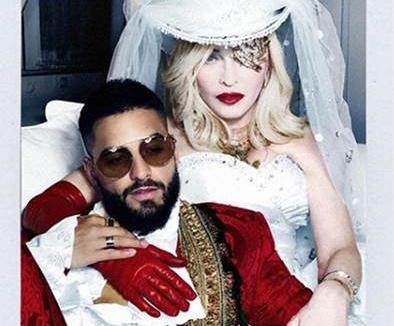 Madonna y Maluma, a ritmo de spanglish con su nuevo tema 'Medellín'