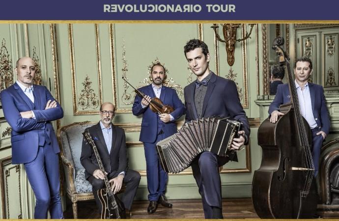 La invitación hoy es a disfrutar el concierto del Quinteto Astor Piazzolla Revolucionario Tour, en el Ateneo de la Ciudad del Saber
