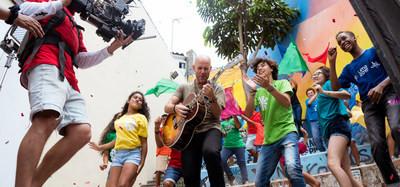 """ESPN junto al Cantautor Peruano Gian Marco Presentan la Canción """"El Triunfo es mi Destino"""" como parte de la Campaña del Canal para los XVIII Juegos Panamericanos Lima 2019"""