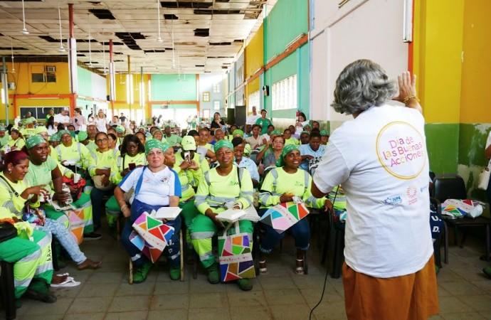 Trabajadoras de AAUD fueron homenajeadas por Fundación Judío Panameña por el Día de Buenas Acciones