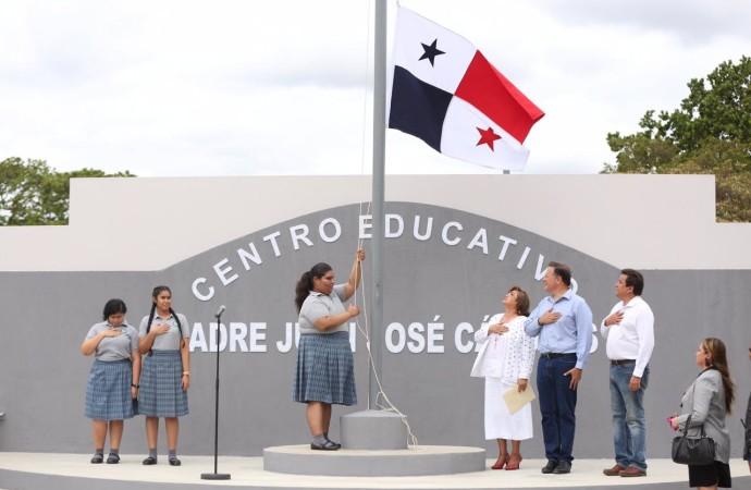 """""""Terminan 33 años de espera por un centro educativo modelo para Atalaya"""", presidente Varela"""