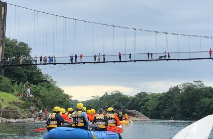 Presidente Varela inspecciona obras en Bocas del Toro y la comarca Ngäbe Buglé para eliminación de aulas rancho, construcción de más carreteras, deporte y promoción del turismo