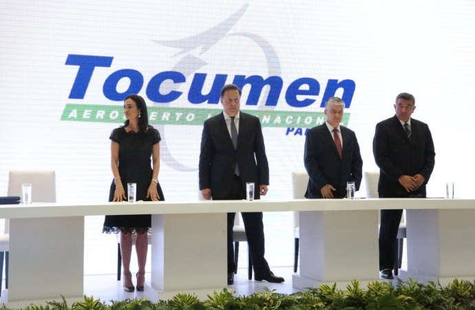 Presidente Varela recibe expansión de la Terminal 2 de Aeropuerto de Tocumen