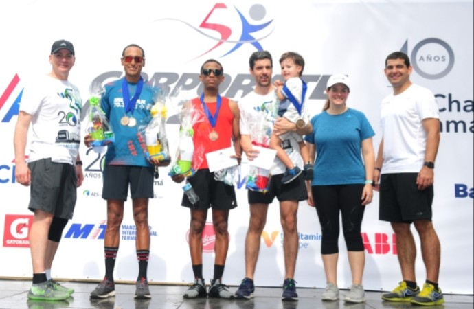 MMG Bank gana séptima edición del Corporate Run de AmCham