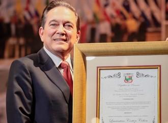 JuntaNE entregó las credenciales al Sr. Laurentino Cortizo como presidente electo de la República de Panamá