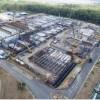 Ampliación de la Planta de Tratamiento de Aguas Residuales presenta 56% de avance