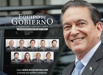 Presidente Cortizo presenta su gabinete para trabajar por un mejor Panamá