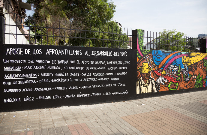Hoy se inauguró mural de SAMAAP, de la artista Martanoemi Noriega