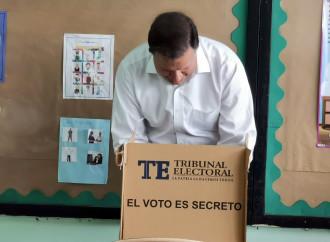 Presidente Varela felicitó a todos los candidatos y electores que salieron a votar con civismo y en paz