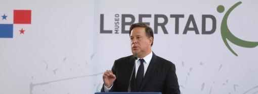 Presidente Varela inaugura el Museo de la Libertad y los Derechos Humanos: Un Museo de la Democracia