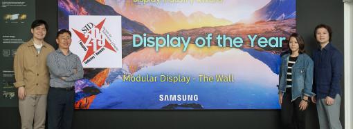 """""""The Wall"""" de Samsung gana codiciado premio del sector de visualización"""