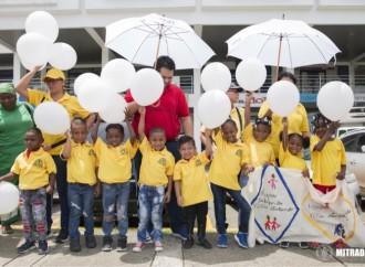 Mitradel, Casa Esperanza y el Tribunal Superior de Niñez y Adolescencia realizan Cadena Humana contra Trabajo Infantil
