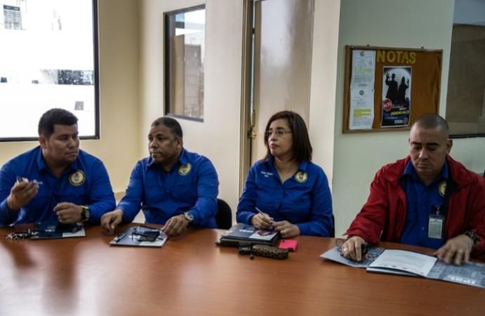Delegación del Ministerio del Trabajo de Barbados recibe capacitación del MITRADEL en materia de inspección laboral