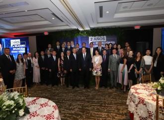 Panamá y República Popular China celebran segundo aniversario del establecimiento de las relaciones diplomáticas