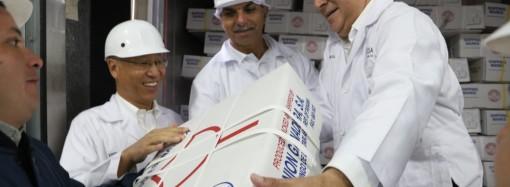 Histórico, primer contenedor con carne fresca panameña sale rumbo a la República Popular China